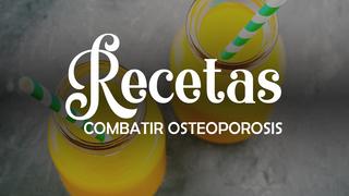Receta: Zumo para combatir la osteoporosis