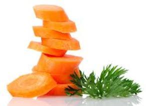Cocina vegetariana macrobiótica: hojas de zanahoria