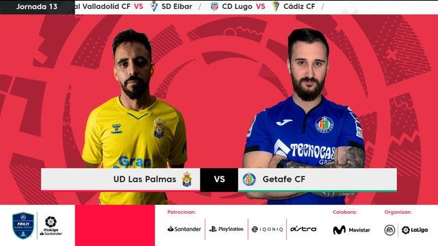 Jornada 13 | UD Las Palmas 3-5 Getafe CF