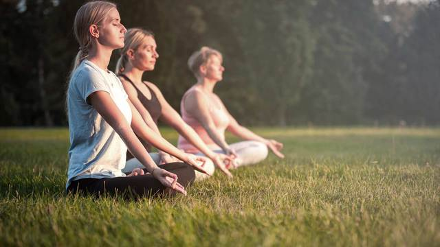 Meditation to achieve emotional and spiritual balance