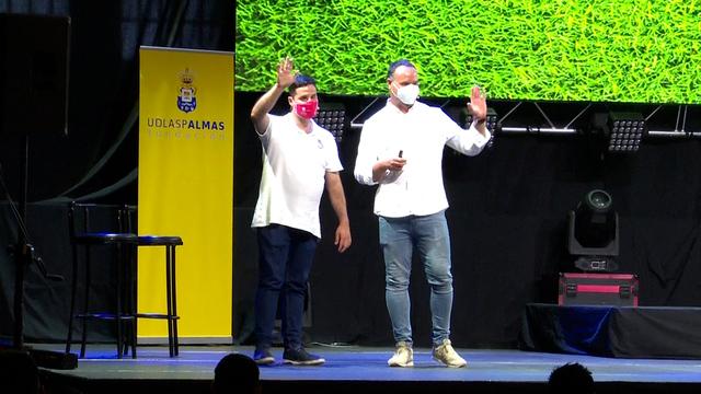 La Fundación UD Las Palmas imparte una charla sobre deporte adaptado en la Villa de Moya.