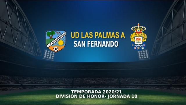 Jornada 10 | San Fernando - Juvenil DH (1-6) Temp.20/21