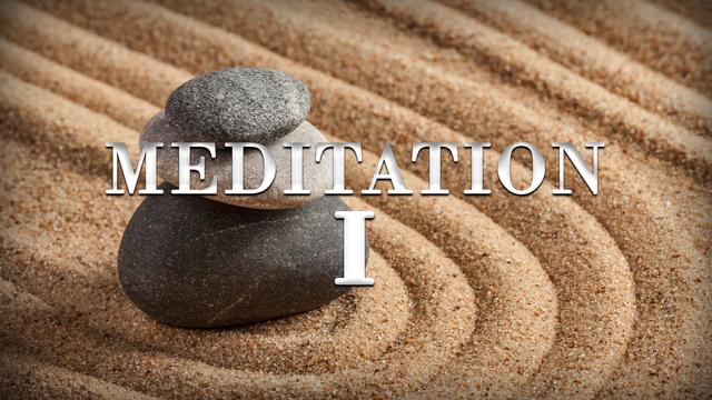 Meditation day 1