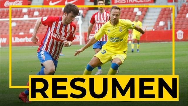 RESUMEN | Sporting - Las Palmas (1-0)