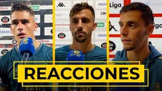 REACCIONES   Nos atiende los jugadores tras la derrota ante el CD Lugo