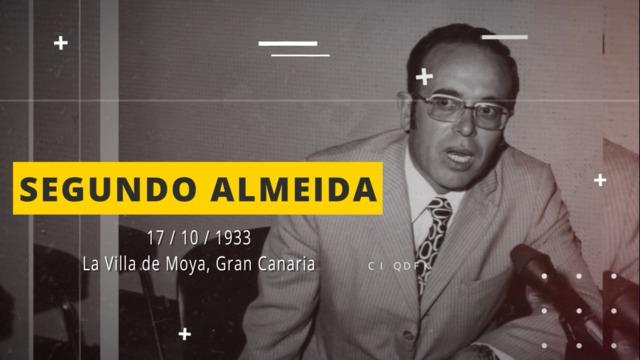La entrevista con Segundo Almeida