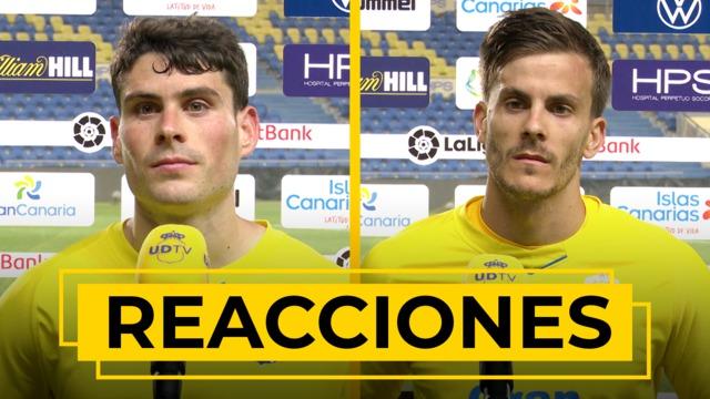 REACCIONES | Declaraciones de Sergio Ruiz y Eric Curbelo tras el UD Las Palmas - Rayo Vallecano