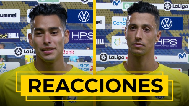 REACCIONES | Declaraciones de Araujo y Maikel Mesa tras el UD Las Palmas - Mallorca