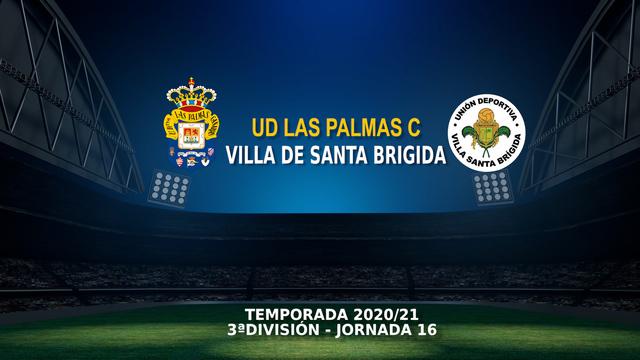 Jornada 16 | Las Palmas C 3-2 Villa Sta. Brígida