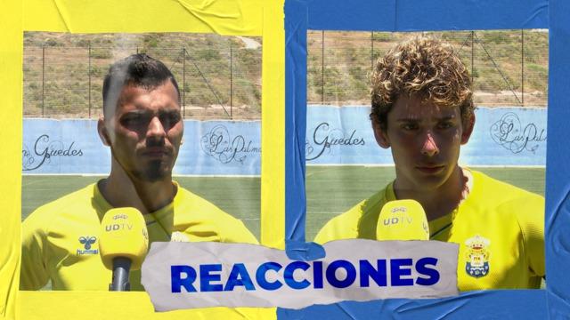 REACCIONES   Sato y Juan Fernández hablan tras la victoria ante el Yeclano