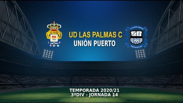 Jornada 14   Las Palmas C 2-0 Unión Puerto