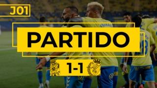 PARTIDO COMPLETO   Las Palmas - Real Valladolid (1-1)