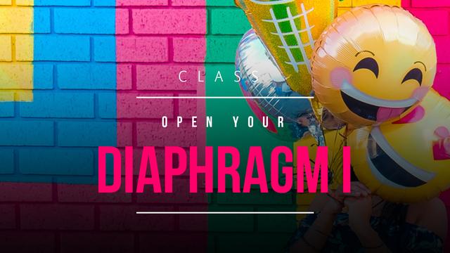 Open diaphragm 1