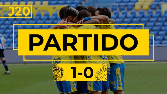 PARTIDO COMPLETO | Las Palmas - Espanyol (1-0)