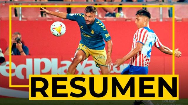 RESUMEN   Girona - UD Las Palmas (0-0)