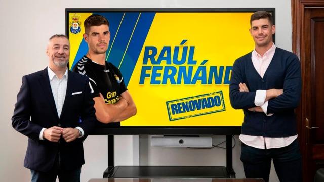 RENOVACIÓN   Raúl Fernández está de vuelta