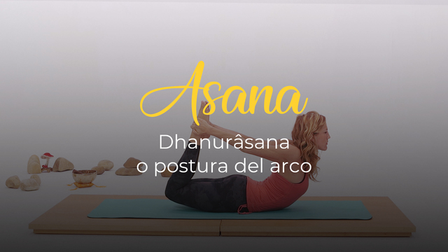 Dhanurâsana o postura del arco