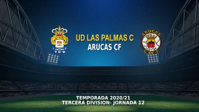 Jornada 12 | Las Palmas C 1 - 1 Arucas